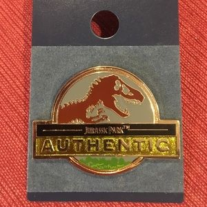 Jurassic Park Authentic Enamel Pin